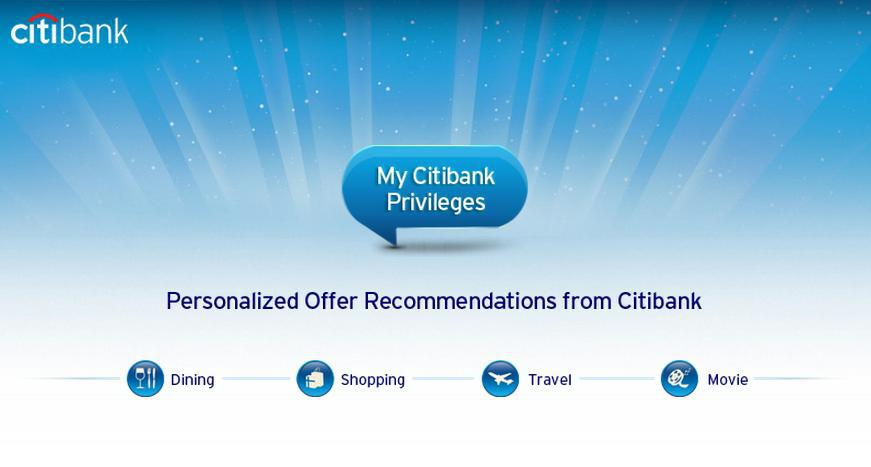 My Citibank Privileges