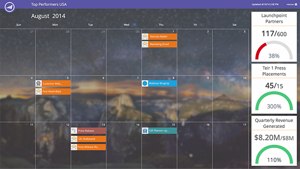 Marketo Marketing Calendar HD