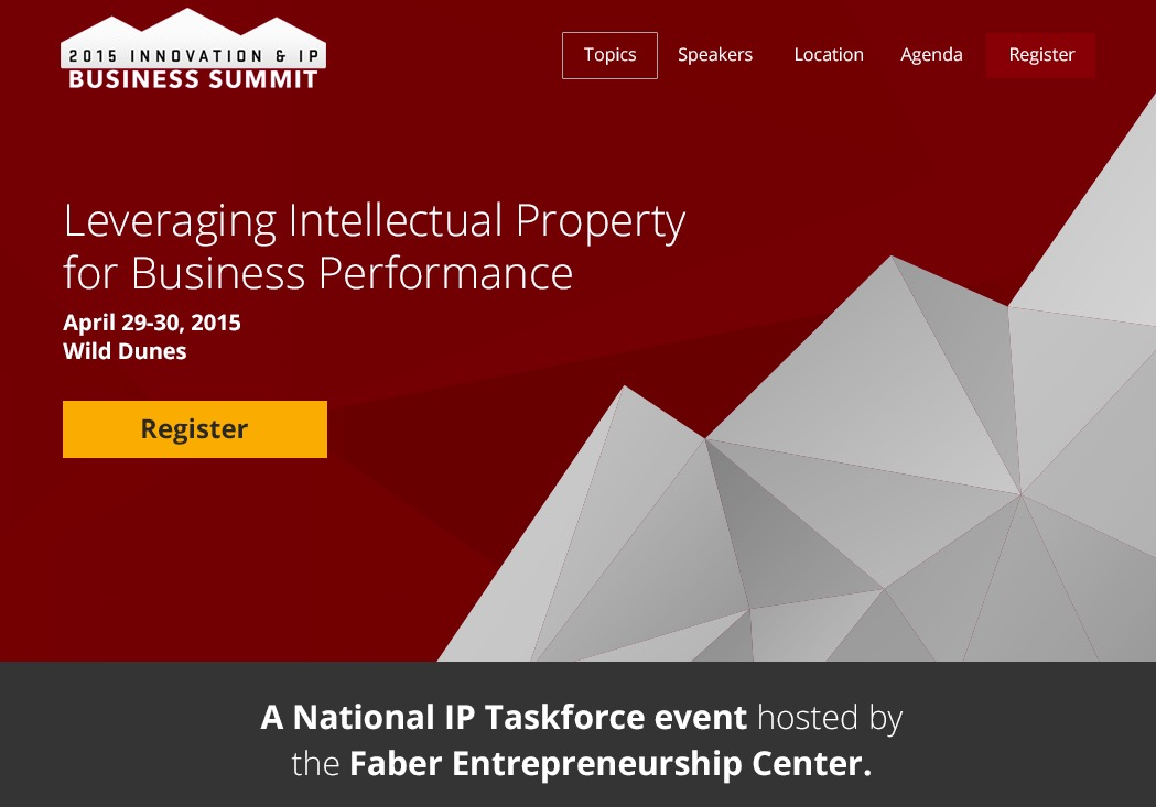 USC IP Conference
