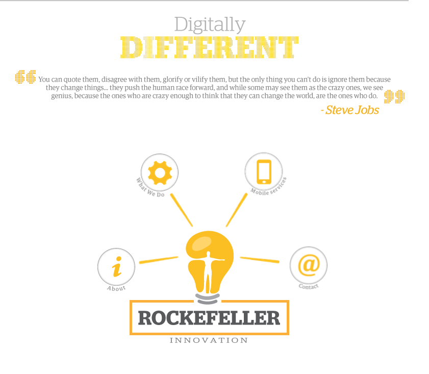 Branding of Rockefeller Innovation
