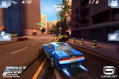 Fast Five the Movie : Official Game